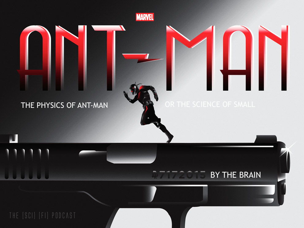 The Physics of Ant Man